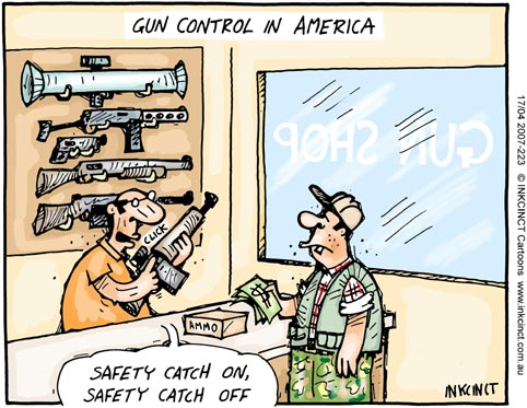 gun rights cartoon
