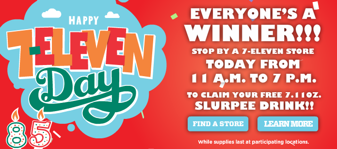 7-eleven day 2012