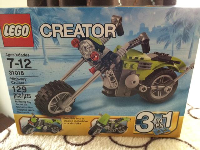 LEGO highway cruiser
