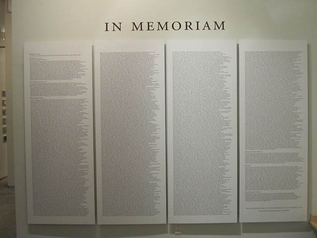 9/11 list of names
