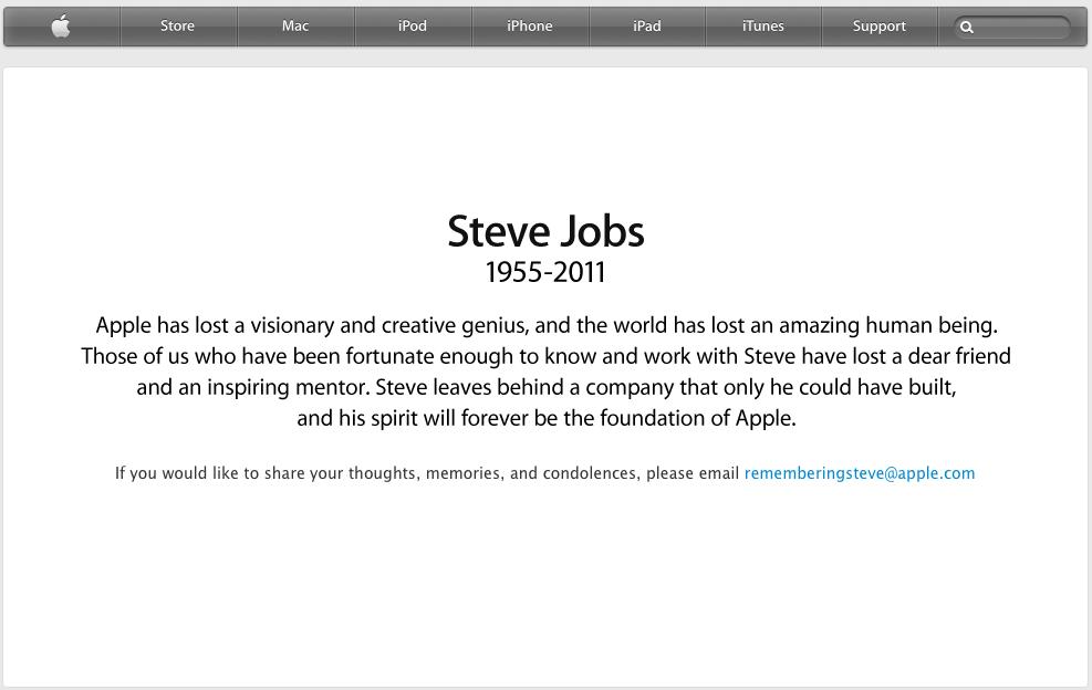 Steve Jobs link
