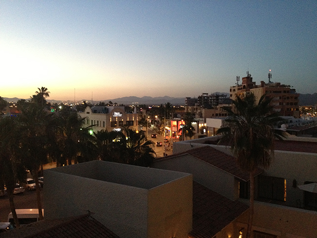 cabo night view