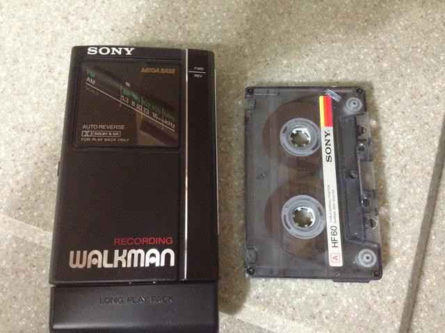 cassette walkman