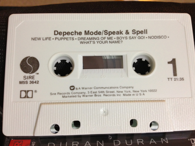speak and spell cassette