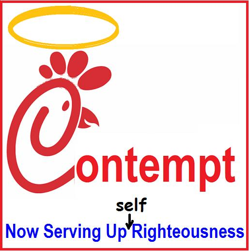 chick-fil-a contempt