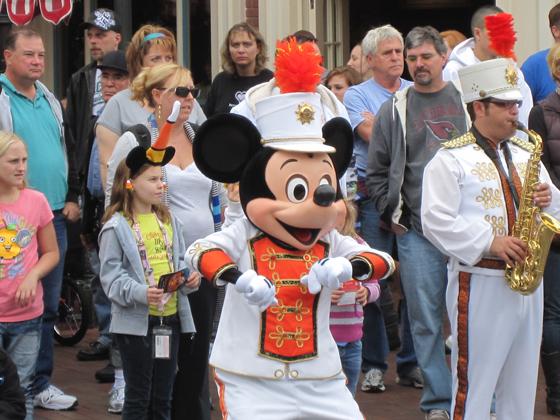 Mickey bandleader