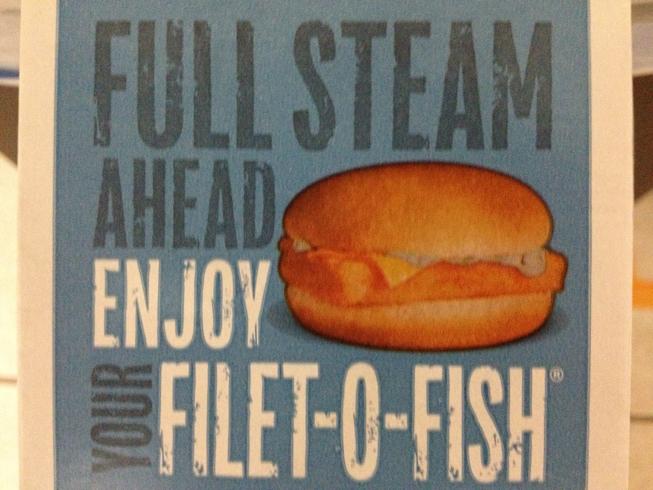 Random leakage 14 banal leakage for Filet o fish deal