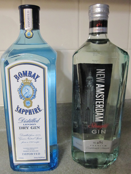bombay and new gin