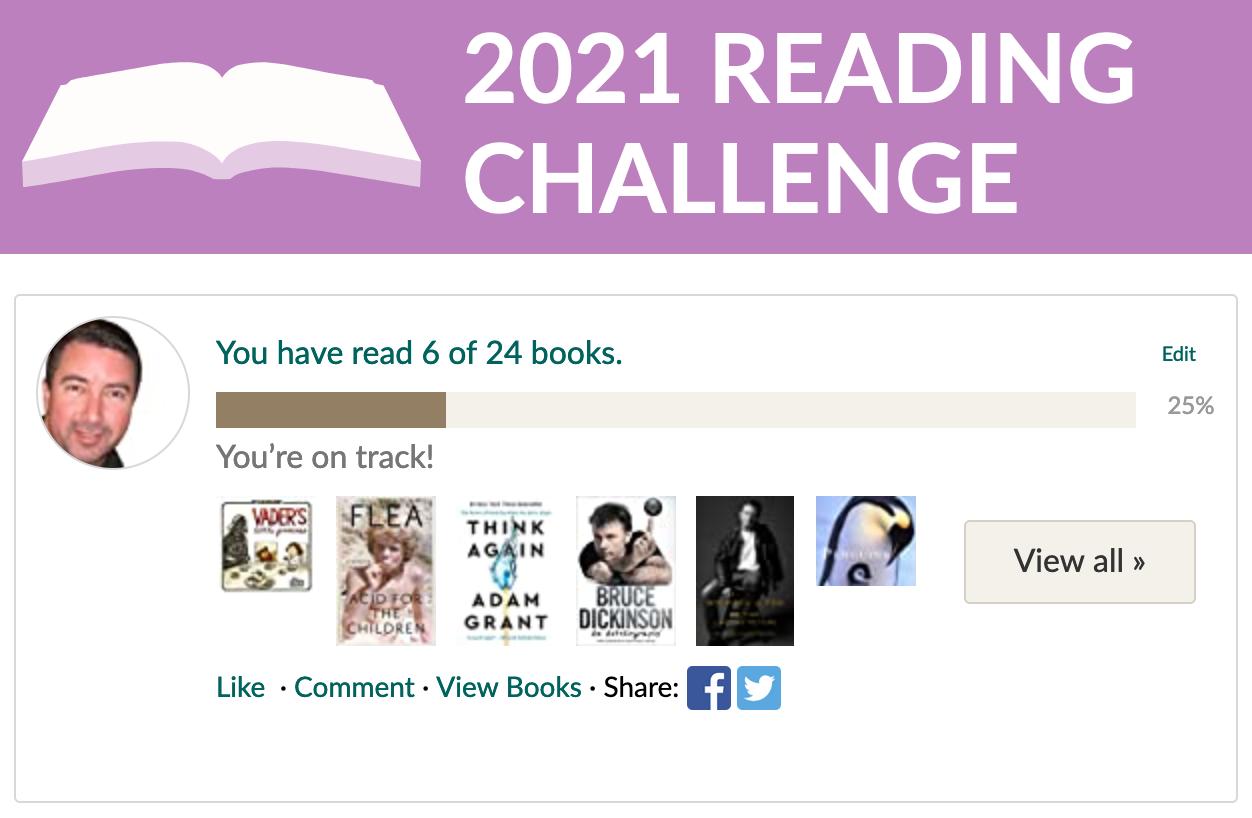 goodreads 2021