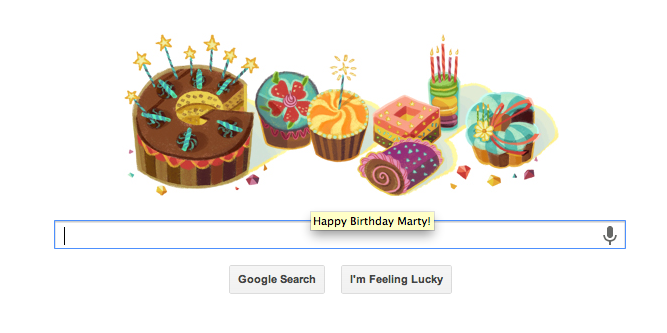 google bday wish