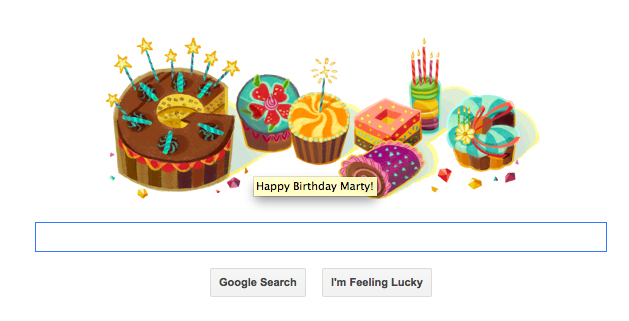 google birthday