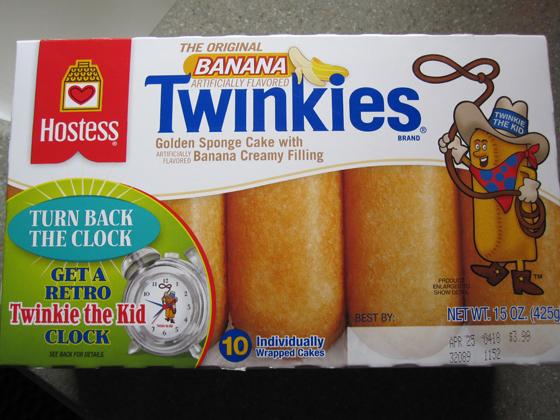 Banana Twinkies
