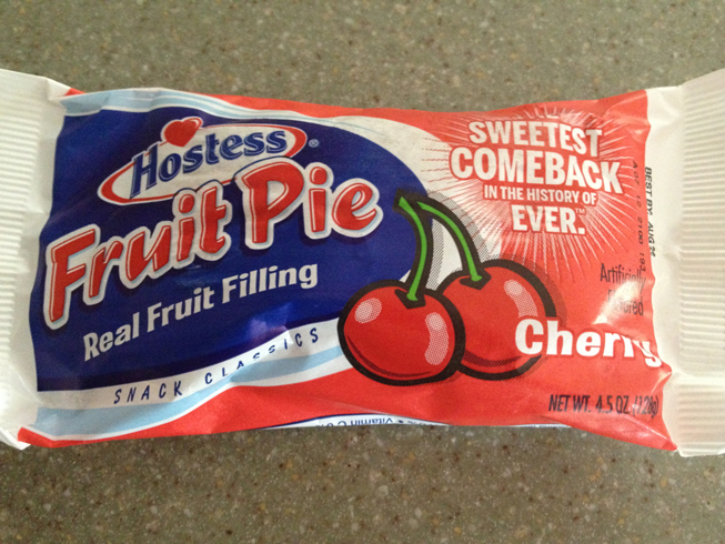 hostess cherry pie