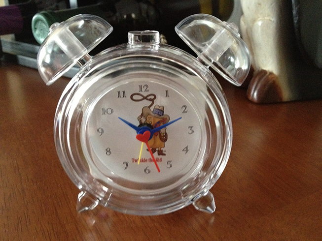 twinkie the kid clock