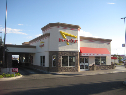 In-N-Out near St. George