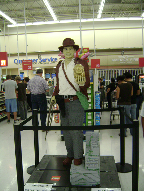 Indy Lego display