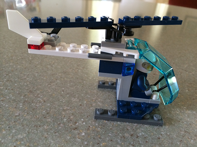 lego helicopter