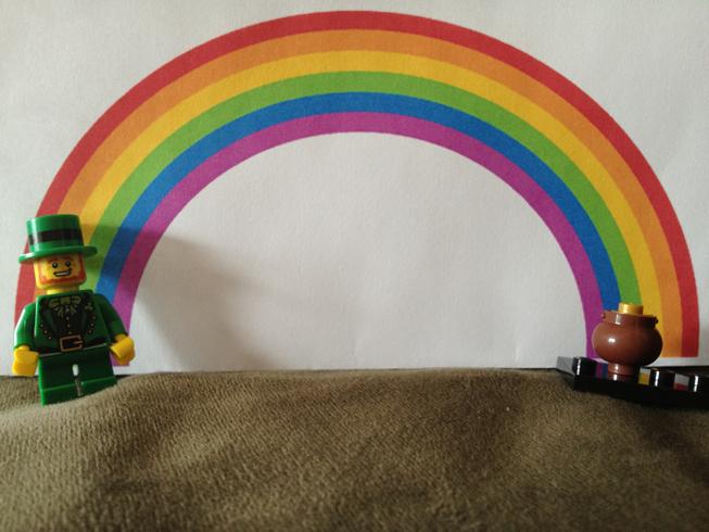 LEGO leprechaun