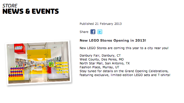 utah lego store coming soon