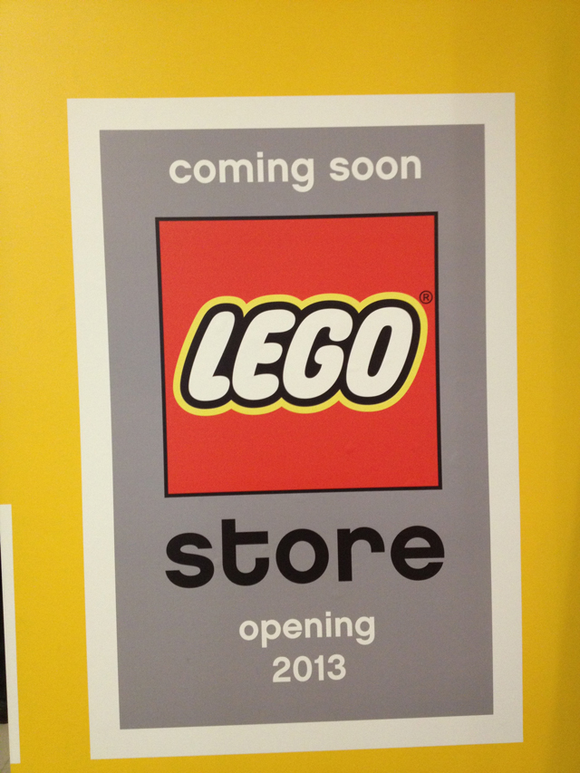 lego store front