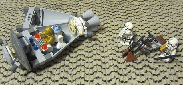 LEGO sw droid escape