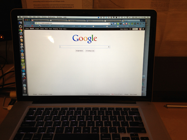 MacBook Pro screen
