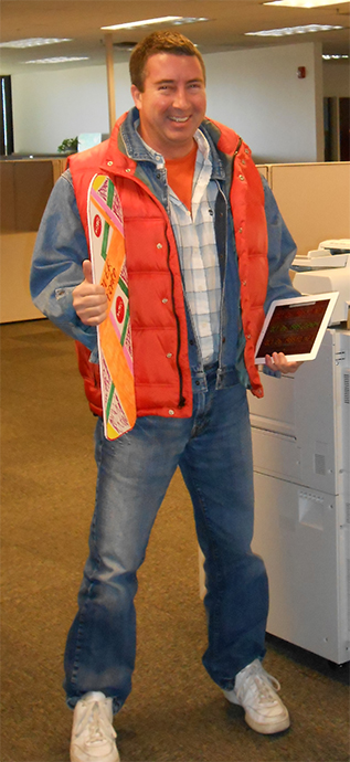 marty mcfly costume work