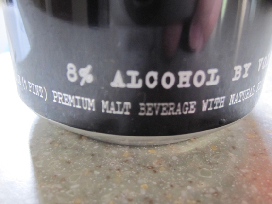 8% alcohol