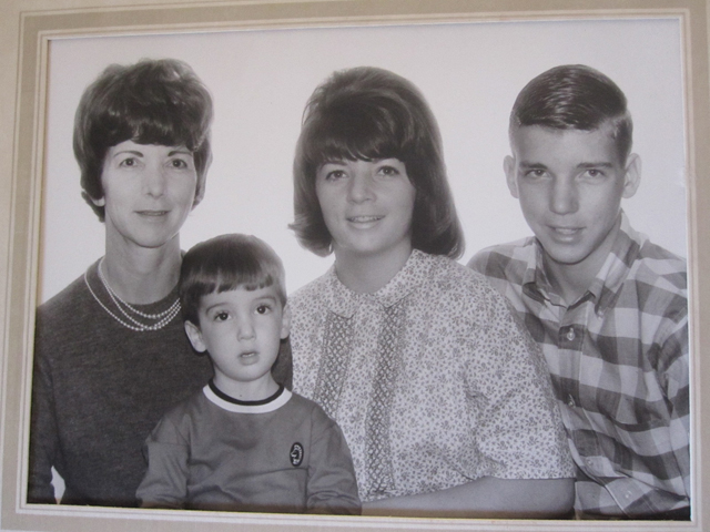 Family portrait from December 1965