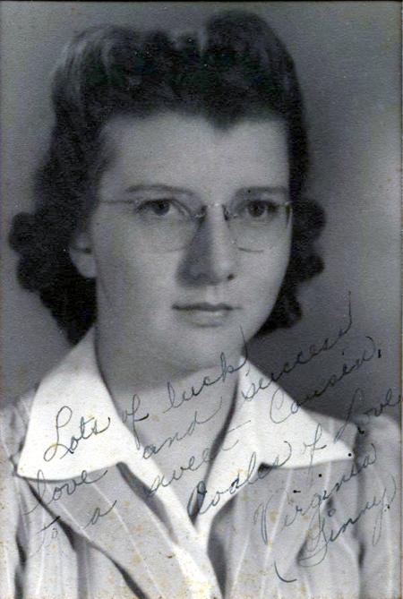 Mom in 1941
