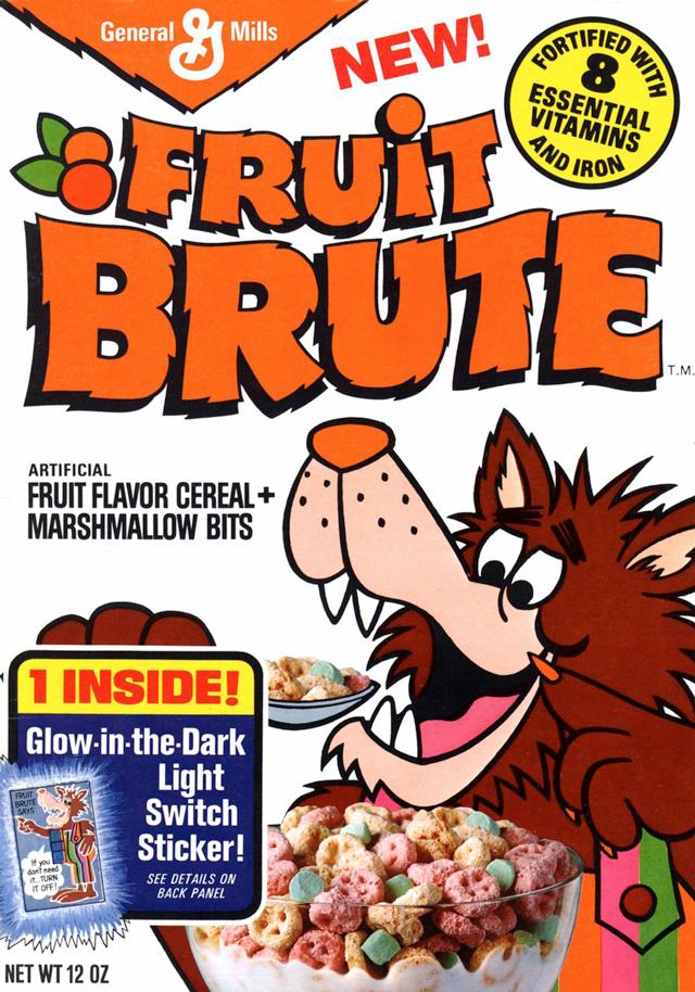retro fruit brute