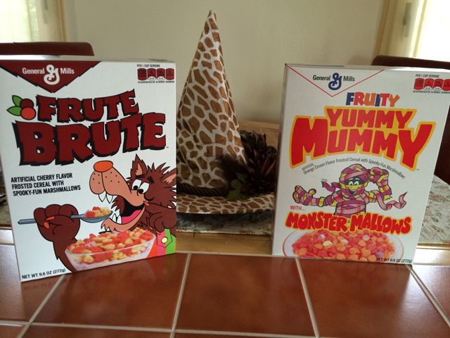 retro monster cereals