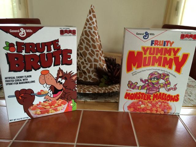 retro monster cereals