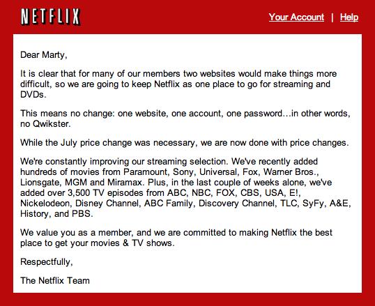 Netflix DVD staying