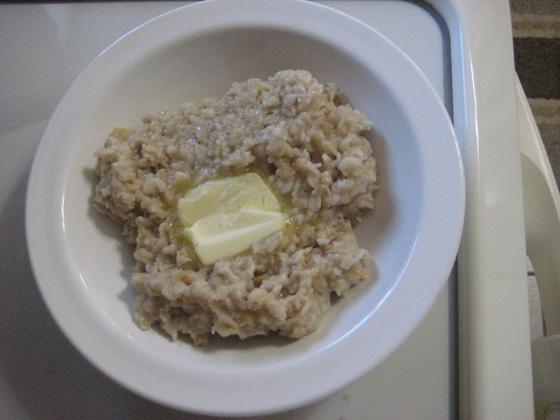 oatmeal butter