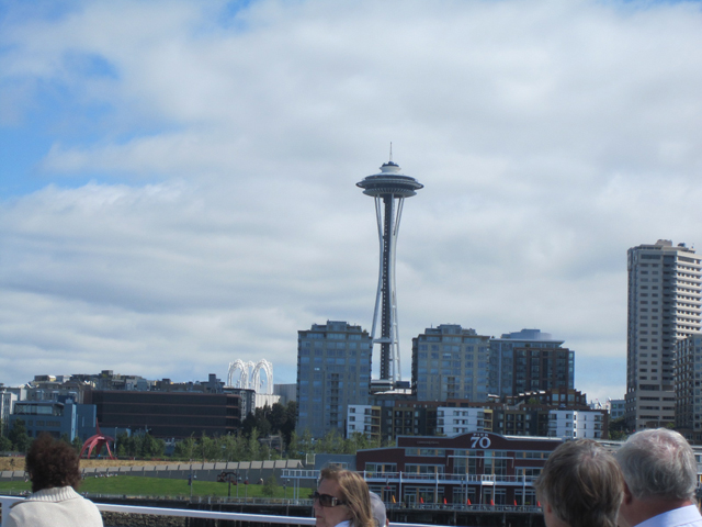 vide of space needle
