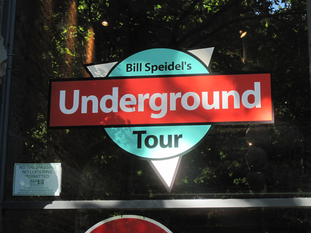 Undergound tour