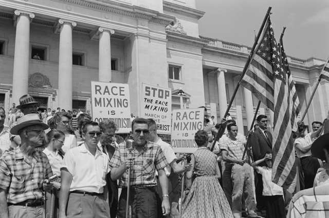 race mixing protest