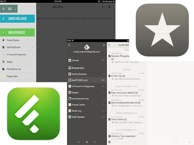 reeder feedly