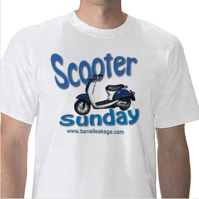 Scooter Sunday t-shirt