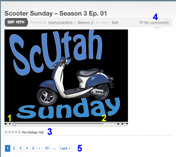 scootersunday.com main window