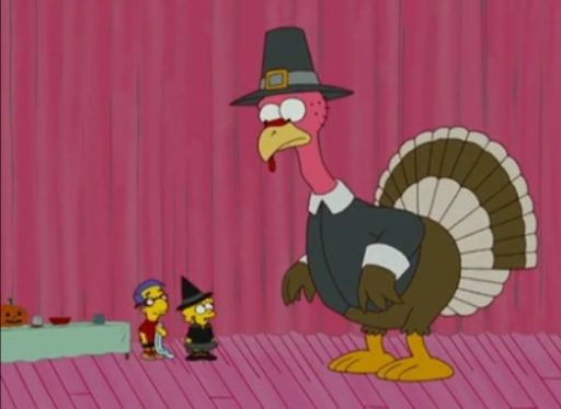 simpsons turkey