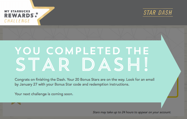 starbucks star dash