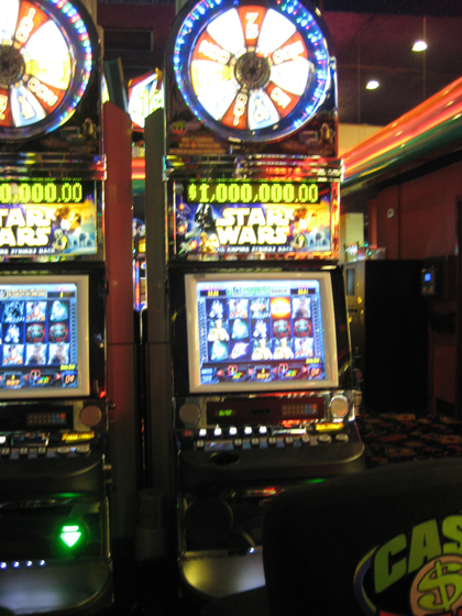 Star Wars slot machine