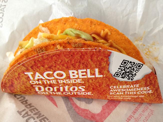 Taco Bell Doritos Locos Tacos | Banal Leakage