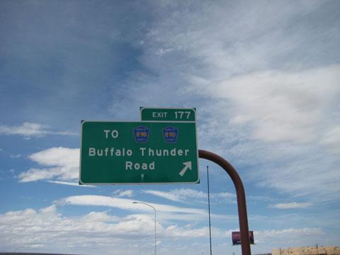 Buffalo Thunder Road