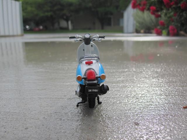 scooter rain