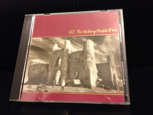 unforgettable fire cd