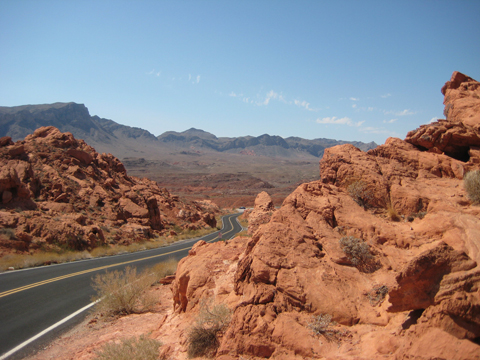 Valley of Fire - ridge