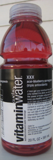 Vitamin Water XXX acai-blueberry-pomegranate